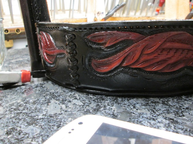 custom,leather,drum handbag,acrossleather,adkartsboutique